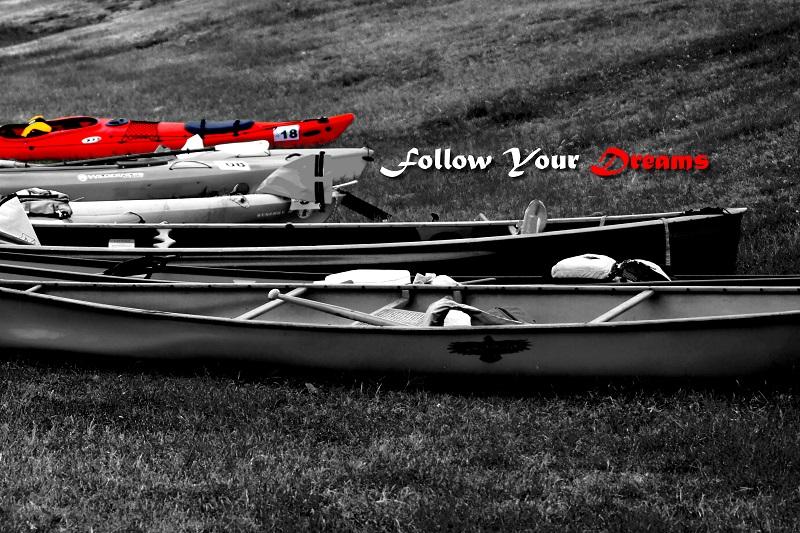 kayak boat race