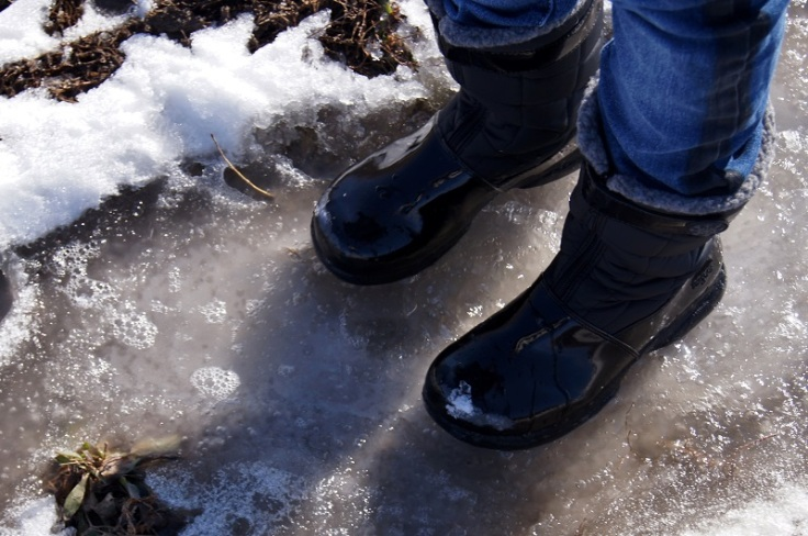 winter puddle boots