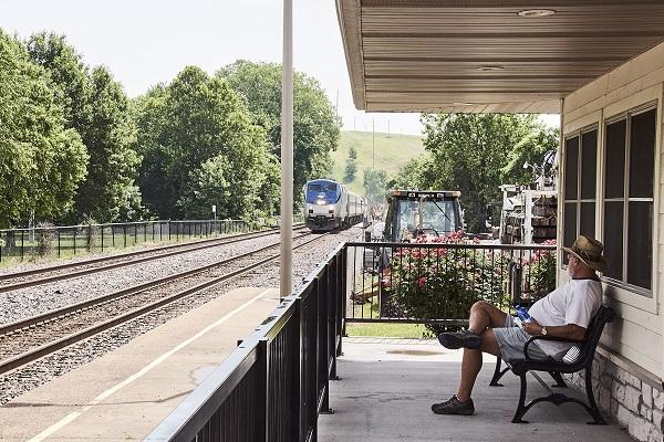man on platform 01